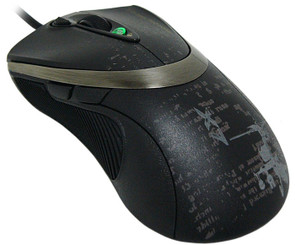 A4Tech X7 V-Track All Surfaces Accurate Tracking Gaming Mouse F4