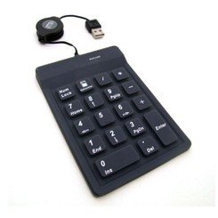Adesso AKP-218 USB 18 Key Waterproof Numeric Keypad