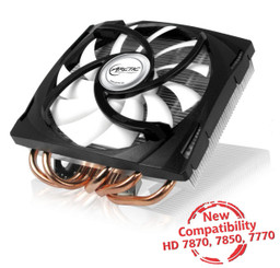 Arctic Cooling Accelero Mono PLUS HD7870/7850/7770 VGA Cooler