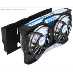 ARCTIC Accelero Twin Turbo III Backside Heatsink SLI/CrossFire nVidia/AMD VGA Cooler