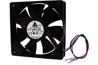Delta AFB1212H-R00 120x25mm Hi-Speed Fan, 3pin