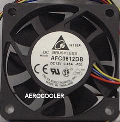 Delta AFC0612DB-PWM 60x15mm PWM Fan, PWM 4Pin