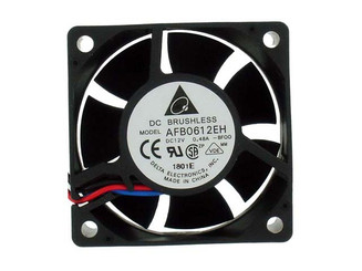 AFB0612EH-BF00 (Delta) 60x60x25mm Extreme Hi Fan, 3Pin