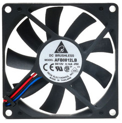 Delta AFB0812LB-F00 80mm x 15mm Fan, 3Pin
