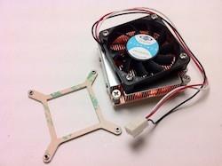 Dynatron i2 Intel Socket G/PGA 988 Active 1U CPU Cooler