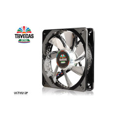 Enermax UCTVQ12P T.B. VEGAS QUAD (Blue, Red, Green, White) LED 120mm Fan