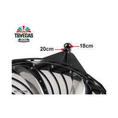 Enermax UCTVQ18A T.B.VEGAS QUAD Blue/Red/Green/White 4 Color LED 180mm Fan