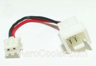 3pin to 2pin converter/adapter CB-YA-D2P