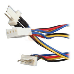 EverCool CB-PWM-Y-6 1 x 4PIN PWM (F) to 2 x 4Pin PWM (M) Y SPlit Cable