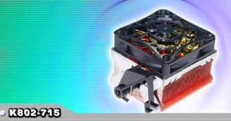 EverCool AMD K8 Opteron and Athlon64 CPU Cooler K802-715