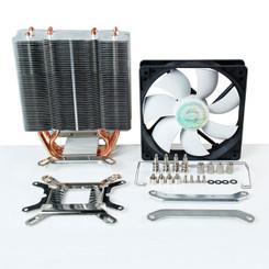 EverCool HPQ-12025 Venti LGA1155/1156 HDT Pipe PWM Fan CPU Cooler