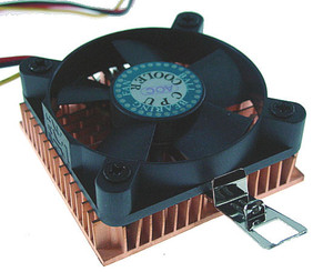 EverCool COP-5B-3T (NCUI-510EA) Low Profile Coppermine Socket370/SocketA CPU Cooler