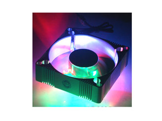 EverCool 4 Color (B,G,R,O) LED Fan Aluminum 92mm