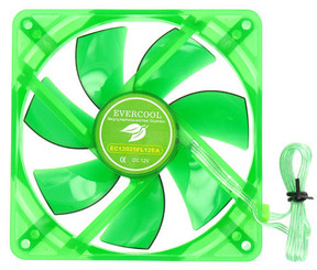 EVERCOOL EGF-12 120mm x 25mm Ever Green Fan