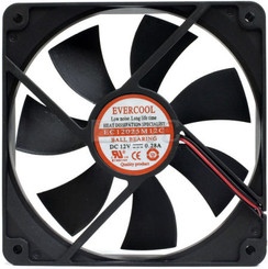 EverCool EC12025M12C 120x120x25mm 4pin Molex Ball Bearing Fan