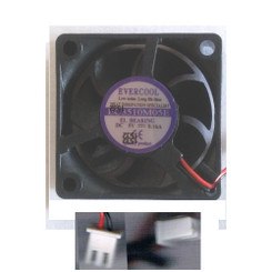 EverCool EC3510M05E 35mm x 35mm x 10mm EL Bearing 5V Fan, 2Pin