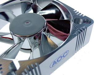EverCool AL6025B 60x25mm Aluminum Fan