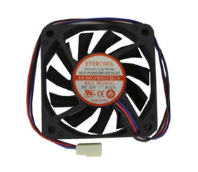 Evercool  EC6010HH12CA 60 x 60 x 10mm High Speed Fan, 3pin