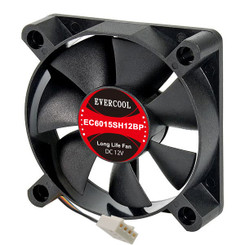 EverCool EC6015SH12BP 60x15mm PWM Fan, 4Pin PWM