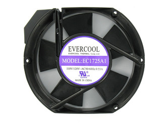 Evercool AC 110V 172x150x51mm Aluminum Fan EC1725A1HBT