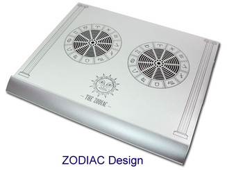 EverCool NP-30-SL Zodiac Pure Aluminum Notebook Cooling Pad