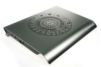 EverCool NP-311T (Silver) Dark Night Zodiac II Aluminum Notebook Cooler
