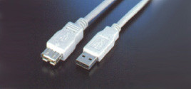 USB EXTENSION CABLE 15FT (A TO A,M / F )