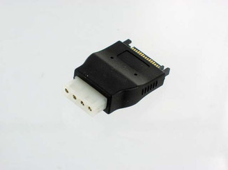 CB-ADP-SA-MO 4Pin Molex (F) to 15pin (M) SATA Power Adapter
