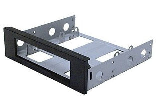 MOUNTING BRACKET 3.5inch TO 5.25inch Bay (Black)
