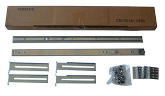 ASL1U2003 1U Solid-Bearing 20inch Slide Rail
