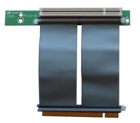 RC1009E 1-slot PCI 32bit/5V/33MHz riser card w/ 7cm Flex Cable