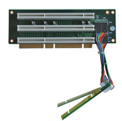 RC2018 2U 3-slots PCI-X 64bit/3.3V Same Bus Reversed Riser Card