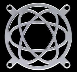 80mm Stainless Steel Atomic Energy Fan Grill
