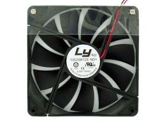 LY 13525M12S 135x25mm Power Supply Replacement Fan, 2 Wire 3Pin