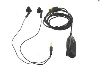 i-Chat USB Earphone with Microphone (Black)