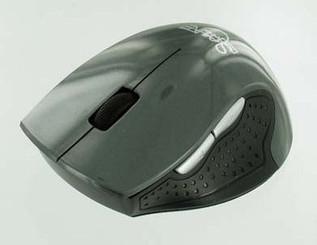 Skyline 1600dpi Optcal 2.4GHz Wireless USB Mouse (Grey)