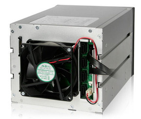 ICY DOCK MB974SP-2B FlexCage Trayless 4x3.5in SATA HDD Cage