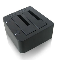 iStar xAGE902DU-SAU 2.5in/3.5in Dual SATA HDD USB2.0/eSATA Docking Station