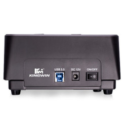 Kingwin PD-2537U3 Super Speed USB 3.0 Dual-Bay SATA Drive Docking Station