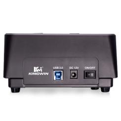 Kingwin PD-2537U3 Super Speed USB 3.0 Dual-Bay SATA Drive Docking Station