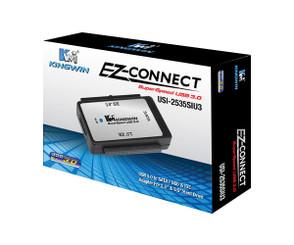 Kingwin USI-2535SIU3 2.5in/3.5in SATA HDD/SSD to USB3.0 External Adapter
