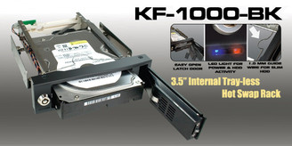 Kingwin KF-1000-BK 3.5 SATA Internal Hot Swap Rack