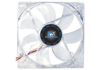 Kingwin CFBL-012LB 120mm x 25mm Blue LED Fan