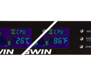 Kingwin FPX-002 5.25inch Bay 3Ch Fan/Temperature Controller