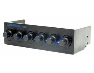 Lamptron FC-2 6ch (45W/ch) fan controller, Black