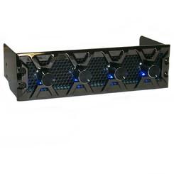 Lamptron FC3 4ch (30W/ch) Fan Controller, Black