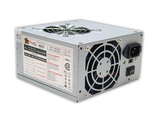 Logisys PS480D2 480W DUAL FAN 20+4 ATX POWER SUPPLY (Retail Pkg)