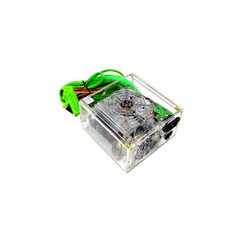 LOGISYS PS550AC 550W Dual FAN 20/24Pin SATA Clear Power Supply