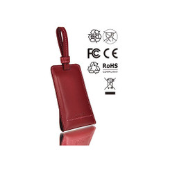 Luax2 PO-UNP-PUL1RE-00 (Red)  PL1 2,800mAh Leather Power Bank
