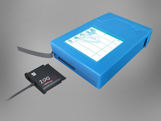 Mukii ZIO-P015U3-BL 3.5in SATA HDD to USB3.0 Adapter/Protection Case